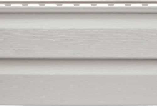 Панель виниловая Альта-Сайдинг светло-серая, 3,66м