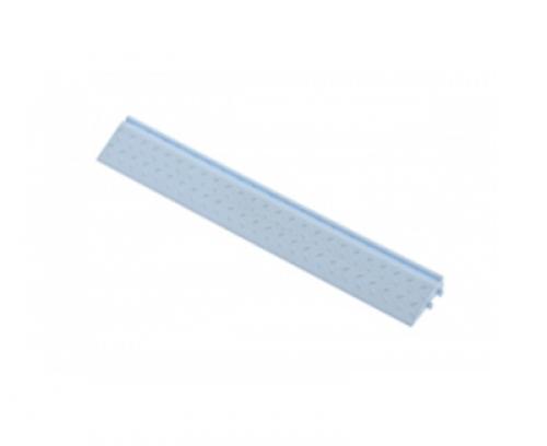 Боковой элемент обрамления с пазами под замки, цвет Голубой