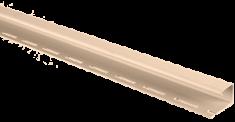 """Сайдинг Планка """"J - trim"""", 3000 мм, цвет Розовый"""