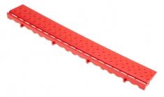 Боковой элемент обрамления с замками, цвет Красный