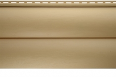Виниловый сайдинг «Блок-хаус» золотистый BH-02 - 3,10м