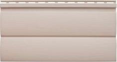 Виниловый сайдинг «Блок-хаус» персиковый BH-03 - 3,10м